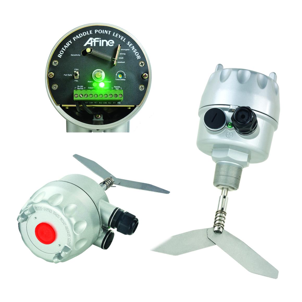 SRP Paddle wheel level sensor