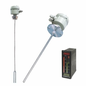 Cable or rod probe for RF level transmitter