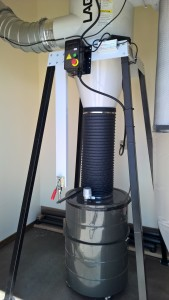 Aplus_Finetek Sensor Setup on Dust Collector
